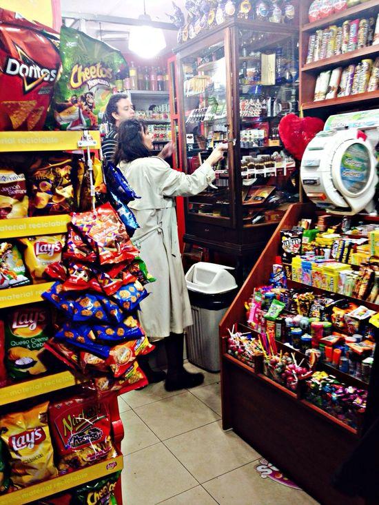 Do you want cigarettes? Hello World Enjoying Life Kiosko Misteriosa Buenos Aires