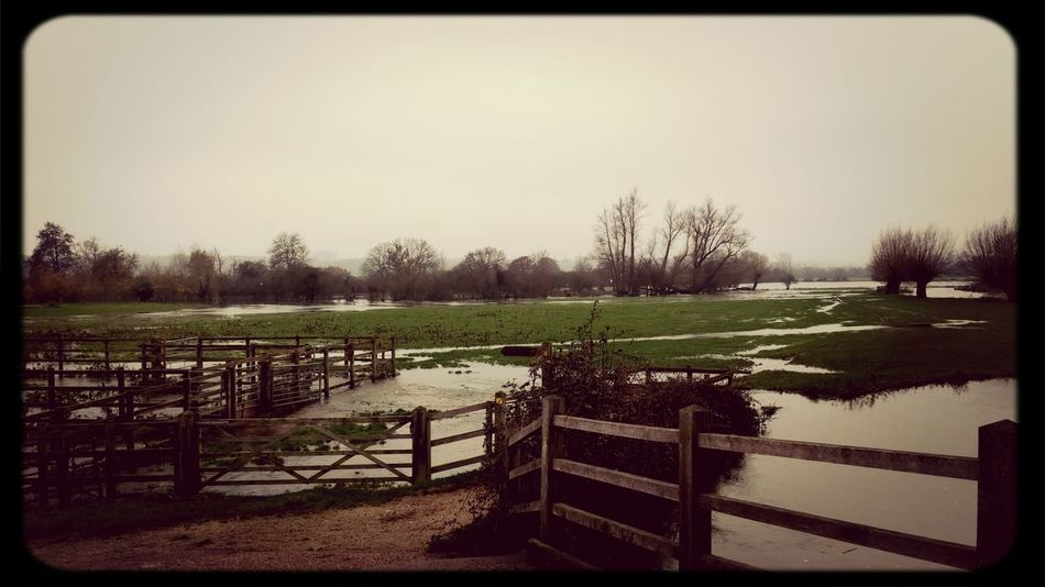 Floods Flatford Constablecountry