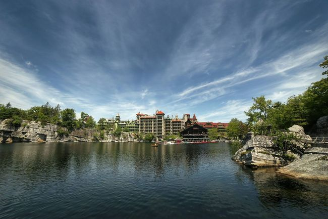 Mohonk Mountain House Landscape Landscape_Collection Architecture