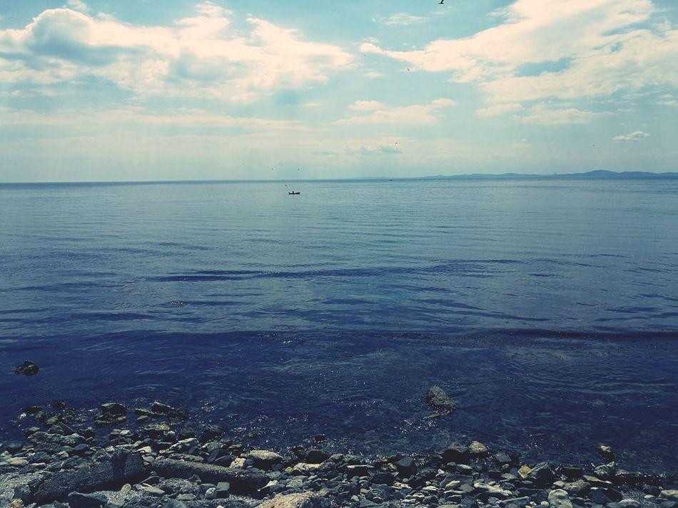 Sea Beach Sky Boat Fishboat