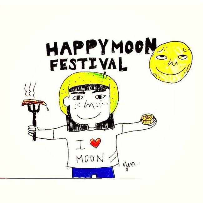 Happy Moon Festival???? Happymoonfestival