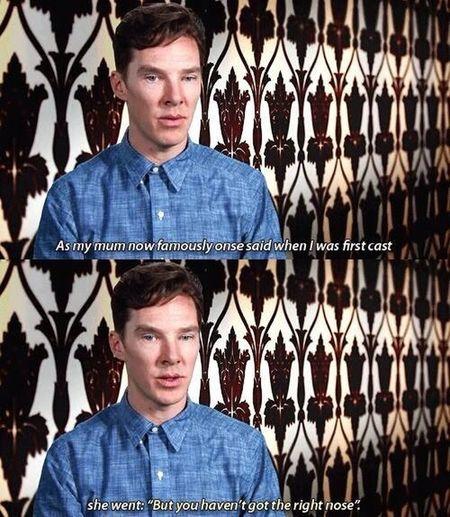 Sherlock Benidictcumberbatch Funny Adorable