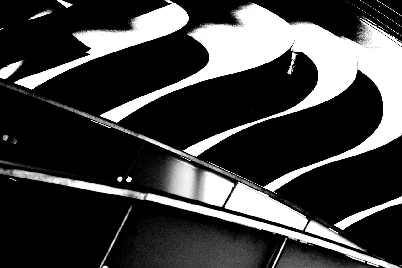 Abstract Black & White Blackandwhite Curves Light And Shadow Little Paris Micul Paris Pattern Shadow Shadows & Lights Steps Streets Of Bucharest