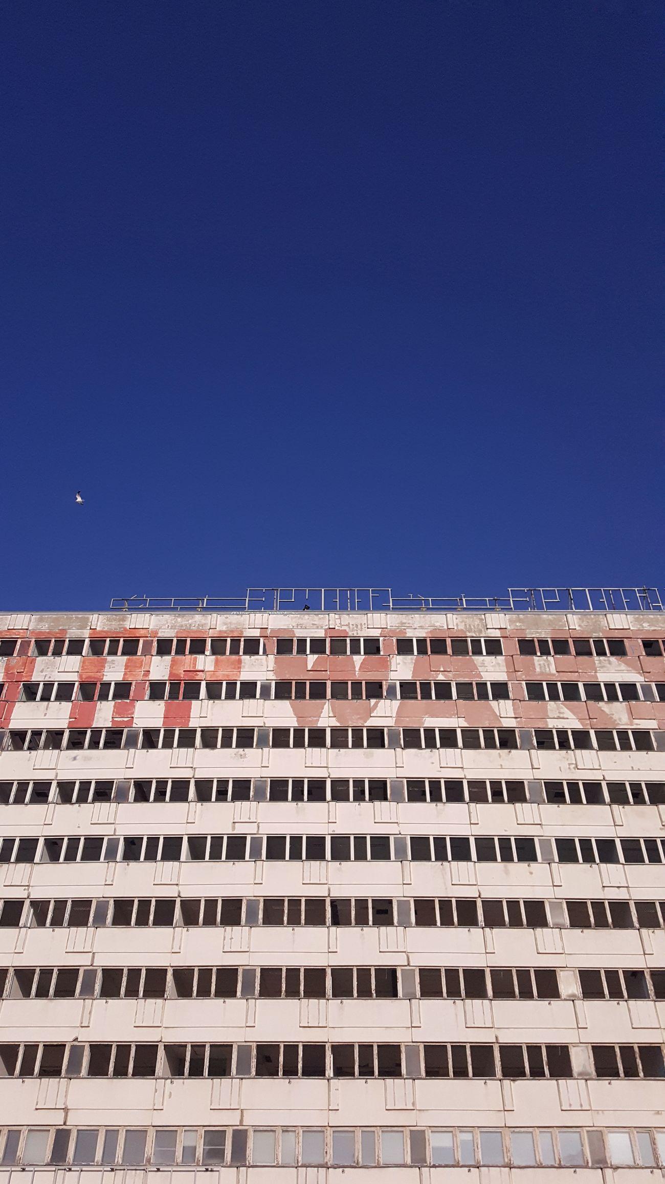 Past Berlin Architecture Alexanderplatz Clear Sky City