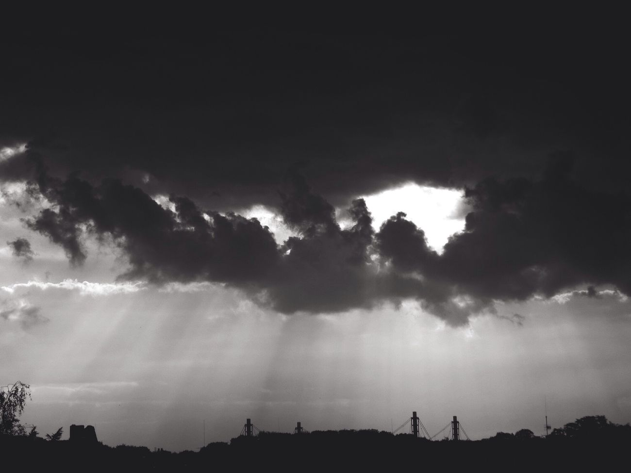 Clouds And Sky Black And White First Eyeem Photo Sky Clouds Cloudy Horizon Cloudscape Cloud Moody Sky Storm Cloud Atmosphere Atmospheric Mood Atmospheric Sky Atmospheric Monochrome Gloomy Gloomy Day Gloomy Weather Gray Gray Sky