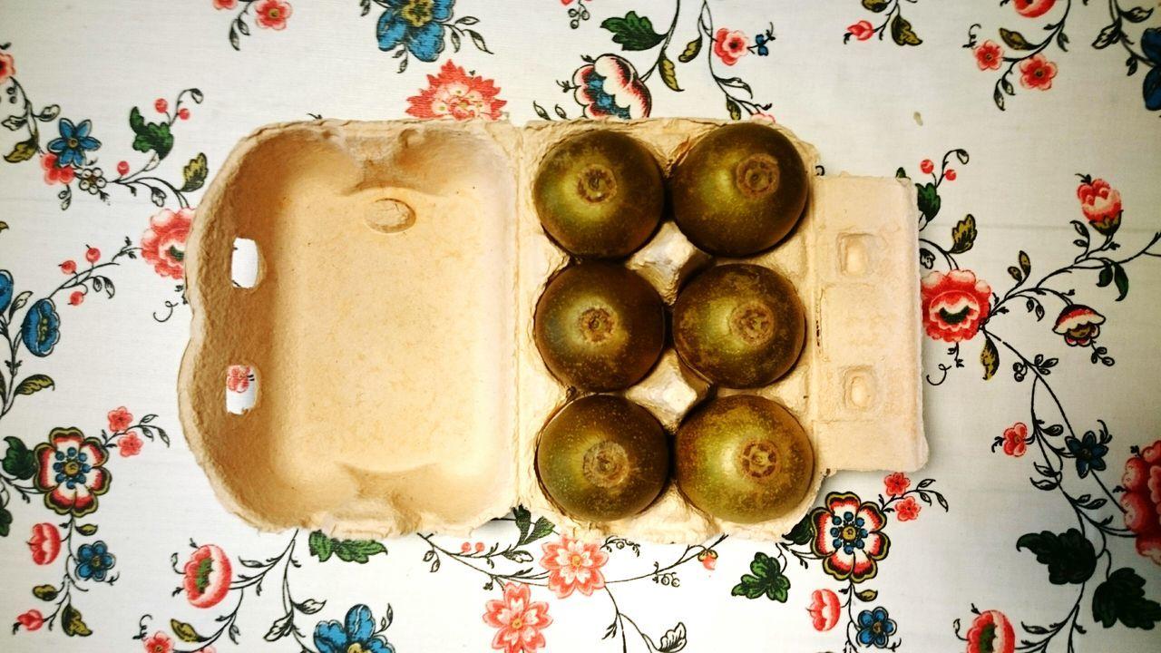 Safe /// Kiwi Kiwifruit Egg Egg Carton Food Art Safe Safety Fresh Concept