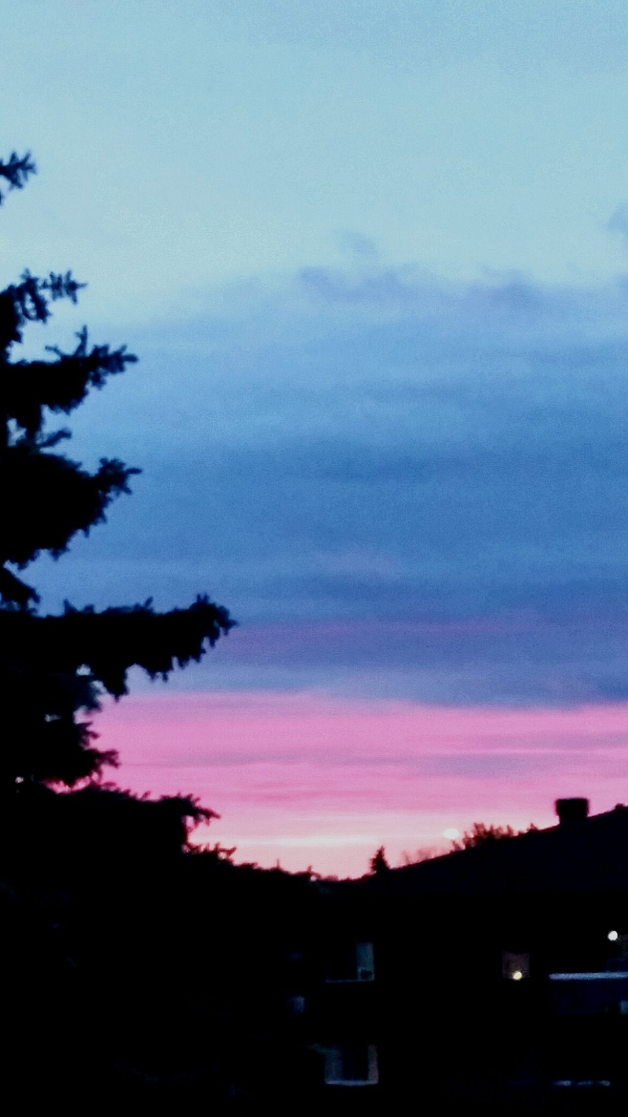 Evening sky of gatineauxxx. Love,light,truth