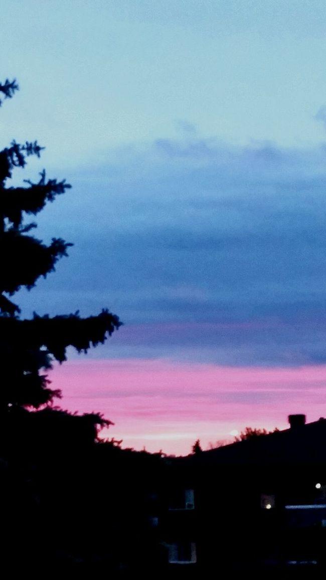 Evening sky of gatineauxxx. Love,light,truth