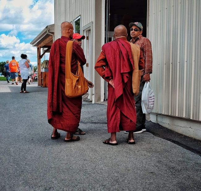 Monks at Amish Country Amish Pennsylvania United States Mobilephotography FUJIFILM X-T1