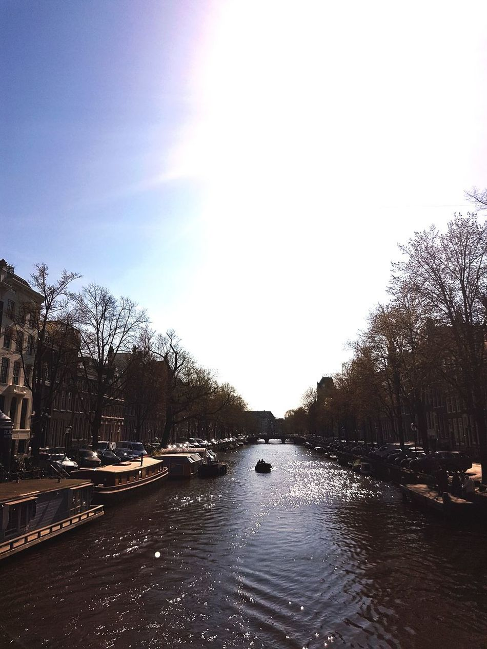 Amsterdam, 27th of March 2017 Sky Reflection Tree Water No People Beauty In Nature Nature Outdoors Canal Day Amsterdam Jordaan