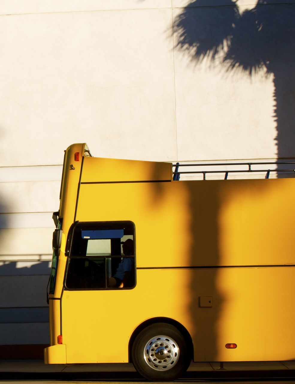 yellow, transportation, land vehicle, no people, outdoors, day, close-up, sky
