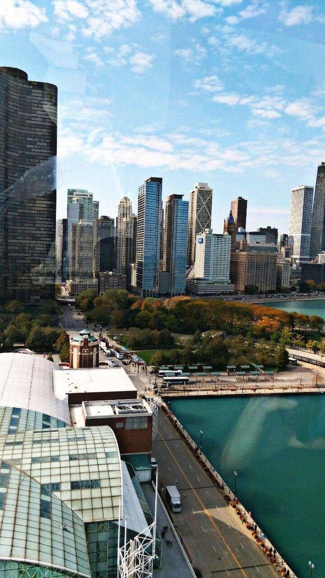 Urban Skyline Sky Architecture Chicago Architecture