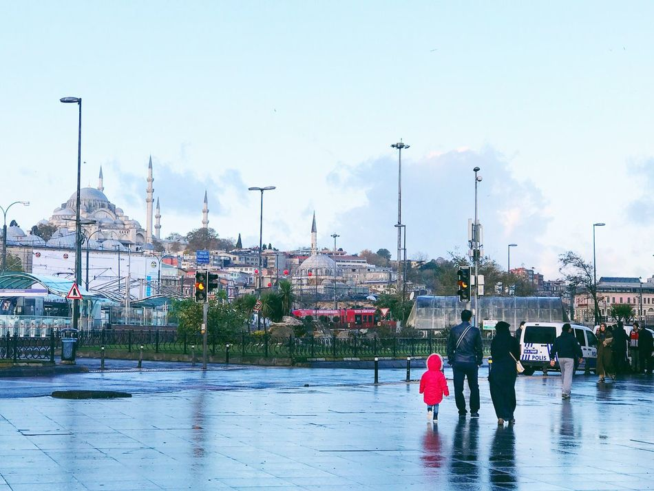 After the morning rain Istanbul City Lifestyles Real People