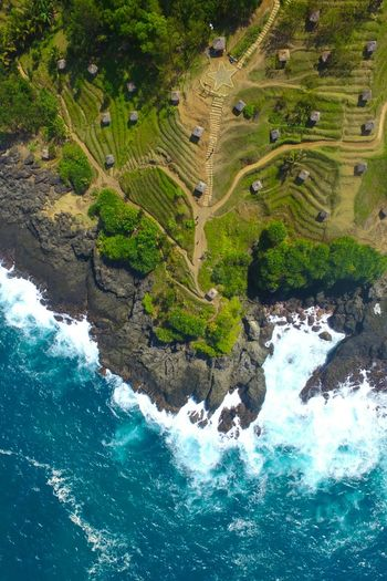 gazebo hills from the sky High Angle View Water Aerial View Outdoors Day Nature No People Beauty In Nature Scenics Tree Rethink Things Perspectives On Nature Landscape Beach Sea Drone  Dji DJI Phantom 3 Aerialphotography DJI Phantom 3 Professional Vertical Panorama Skypixel Verticalscape Vertical Landscapes An Eye For Travel