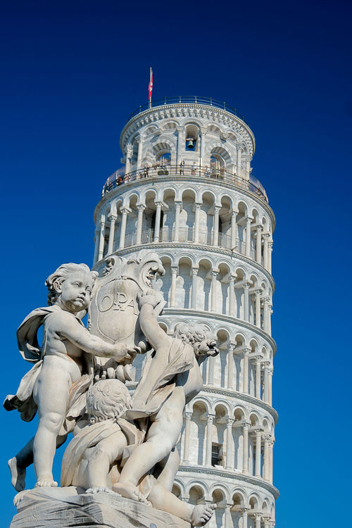 Architectural Column Architecture Art Blue Built Structure Capital Cities  Clear Sky Culture Day Famous Place History International Landmark Italy Italy❤️ Leaning Tower Of Pisa Low Angle View Monument Outdoors Pisa Pisa Tower Torre Di Pisa Torre Pendente Di Pisa Tourism Travel Travel Destinations