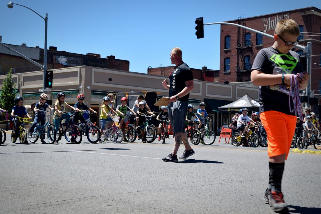 superman medals Kids Kids Having Fun Race Summer Downtown Outdoors City City Life Check This Out Competition Bikes Bicycle Bicycle Race Bike Race Racing EyeEm Streetphotography Starting Line Intersection Sport Eye4photography  Oregon America People People Photography