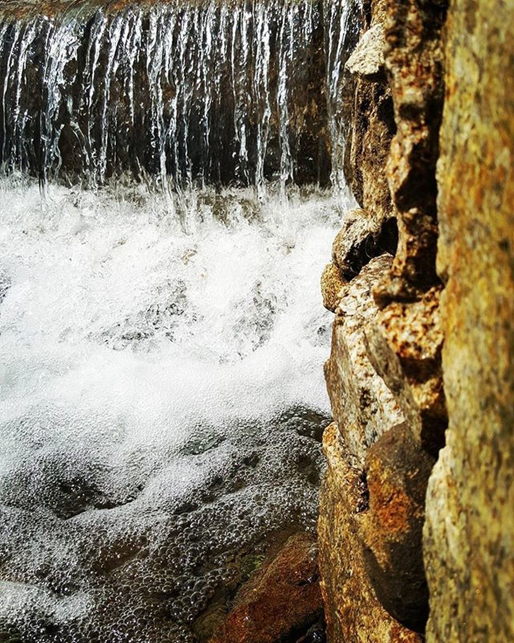 nature, beauty in nature, water, no people, rock - object, day, motion, outdoors, tree