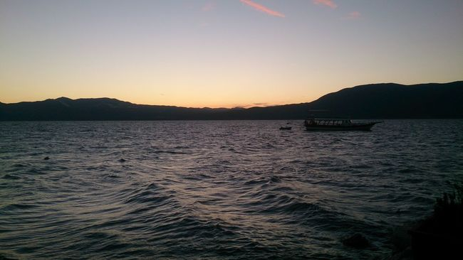 NoEditNoFilter Burdur Lake Sunset Sky Sky_collection Turkey Check This Out