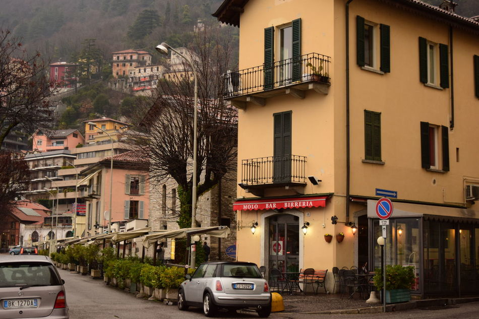 Building Exterior City City Street Cityscape Day Lake Lake View Lakecomo Lakeshore No People Outdoors Sky Street Travel Destinations Tree Urban Road