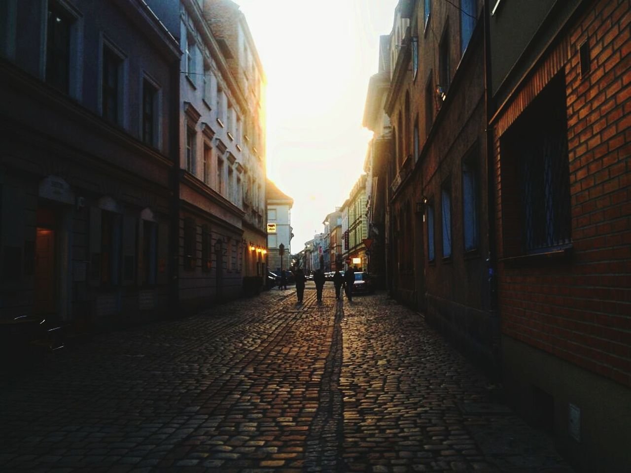 Building Exterior The Way Forward Built Structure Cobblestone Outdoors City Sky Day Architecture Architecture Traveler Travels Travel Destinations People And Places Art Beauty Indoors  Architectural Column People Krakow Sun Morning Morning Sky Morning Light Lifestyles