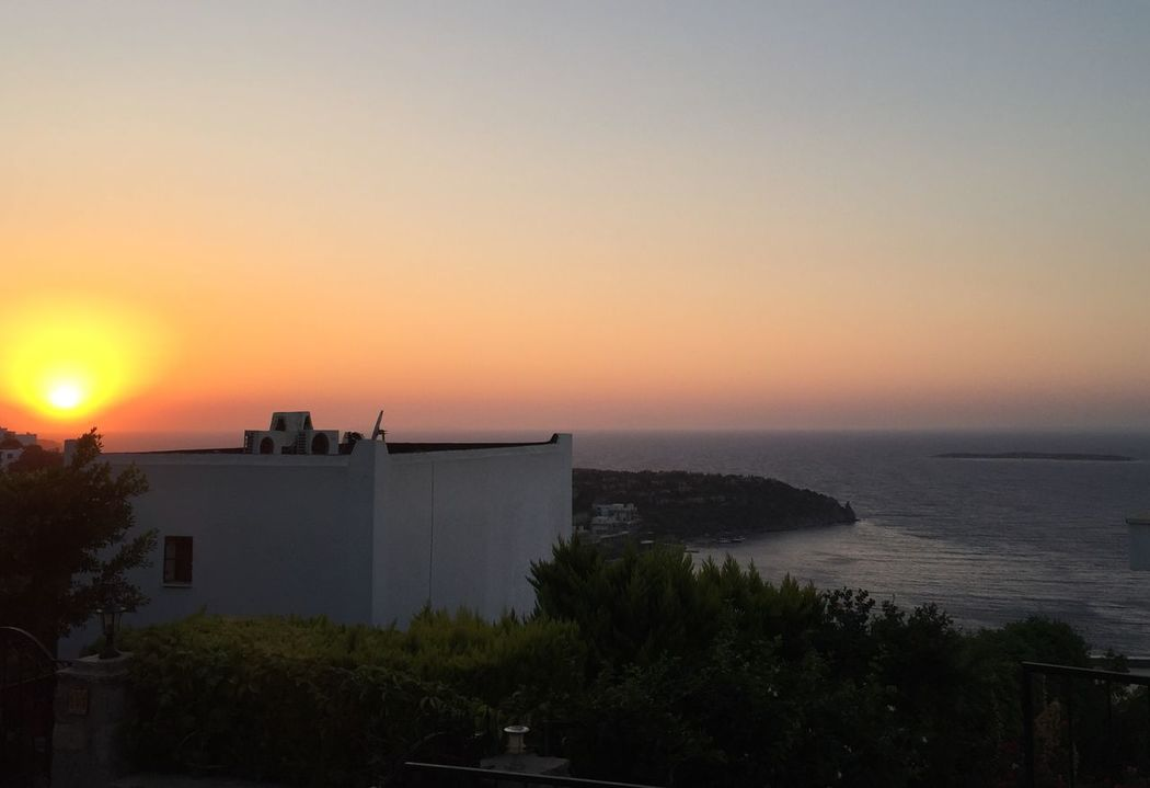 Sunset, Sky, sea, paradise,Bodrum, Turkey