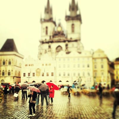 Discovering at Prague town by Luca Max