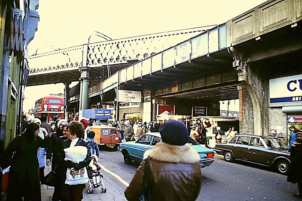 Brixton street scene early 1980s 1980s Streetphotography London London Bus Urbanphotography