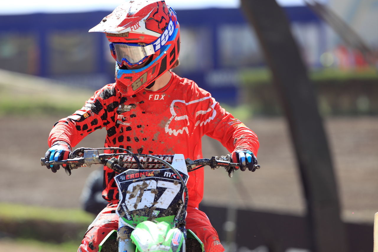 Biker Clement D Cycling Focus On Foreground Helmet Land Vehicle Motocross Motocross MXGP Motorcycles One Person Outdoors People Sport Sports Clothing Sports Helmet Tren