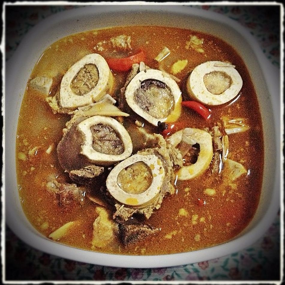 Panyapon ta! BULALO — Supper Dinner Beefbrisket bonemarrow cholesterol