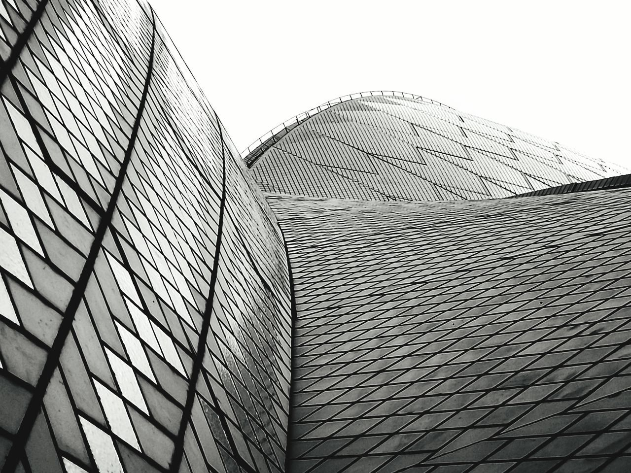 Pattern Sky Architecture Abstract Low Angle View Futuristic No People Outdoors Day Close-up Cool Art ArtWork Check This Out Fine Art Photography Cheese! Standing Opra House Architecture Australia Austrianphotographers Aussie Black And White Black & White Artistic Photo Traveling Home For The Holidays