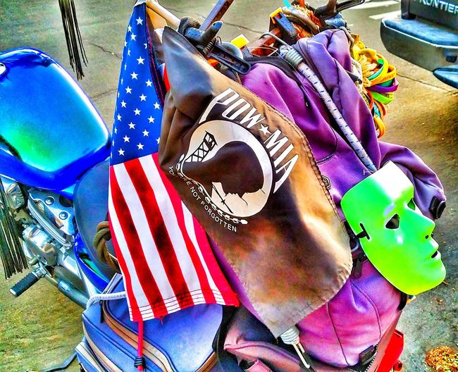 Special effects on things on a motorcycle flags to a rat motorcycle collection Multi Colored High Angle View No People Large Group Of Objects Day Outdoors Close-up Collection Of The Day Motorcycle Photography Fun Photography Motorcycle Lifestyle Just Shooting Around!! Motorcycle, Special Effects Collection