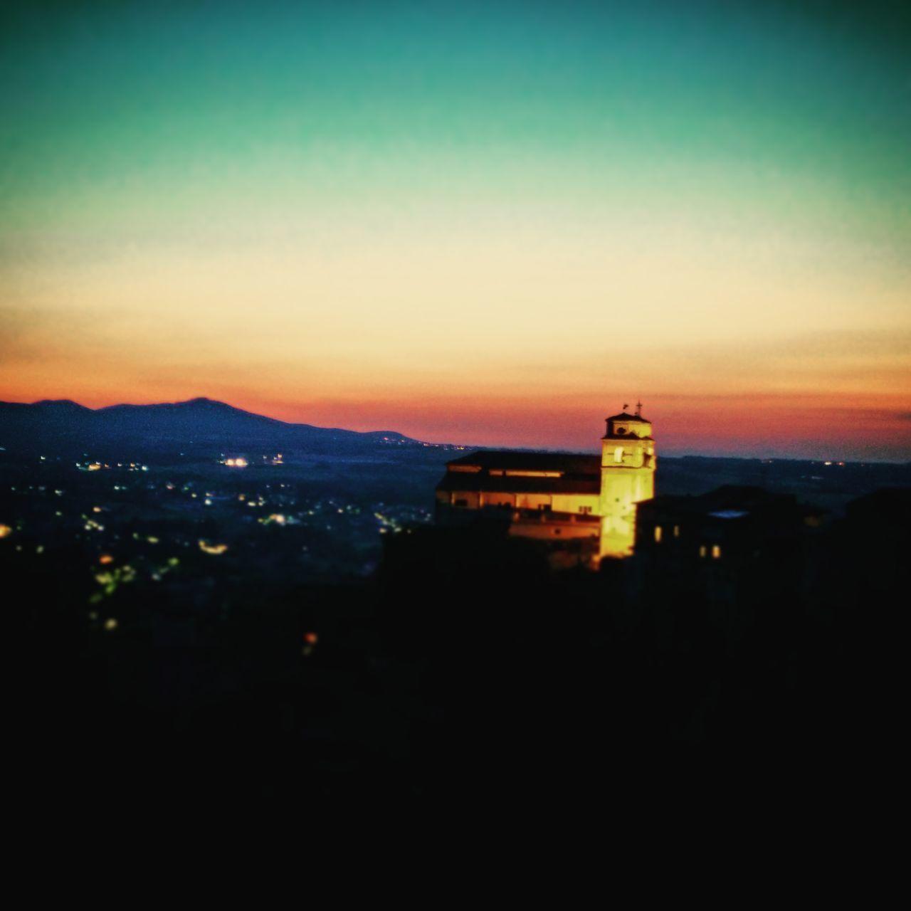 Building Exterior Travel Destinations Church At Night  Artena Sunset Sunset Church Church Sunset Cityscape Silhouette Sunset City Hill Sunset Landscape Scenics No People Redskyatnight RedSky Redsunset City Lighthouse