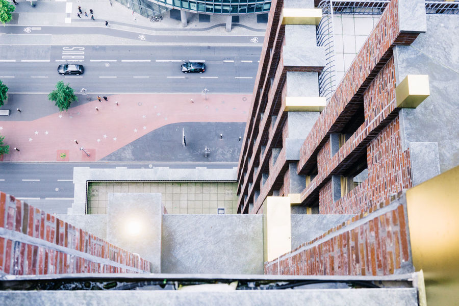 Classic From Above  Looking Down Abyss Architecture Building Exterior Built Structure City Day Highrise Modern No People Outdoors Steps Street