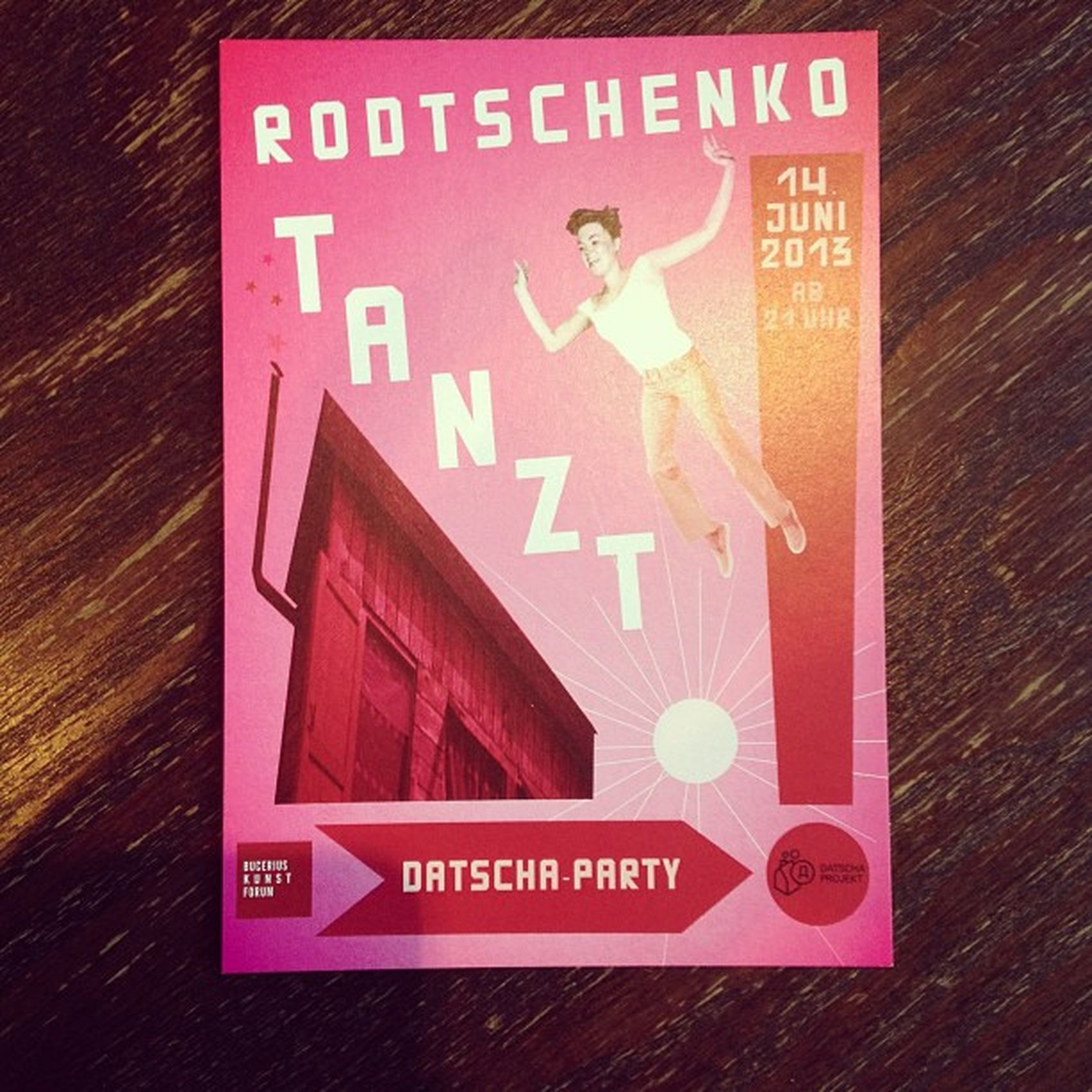 #Datscha-Party im #Bucerius! 14.06., 20h Datscha Bucerius
