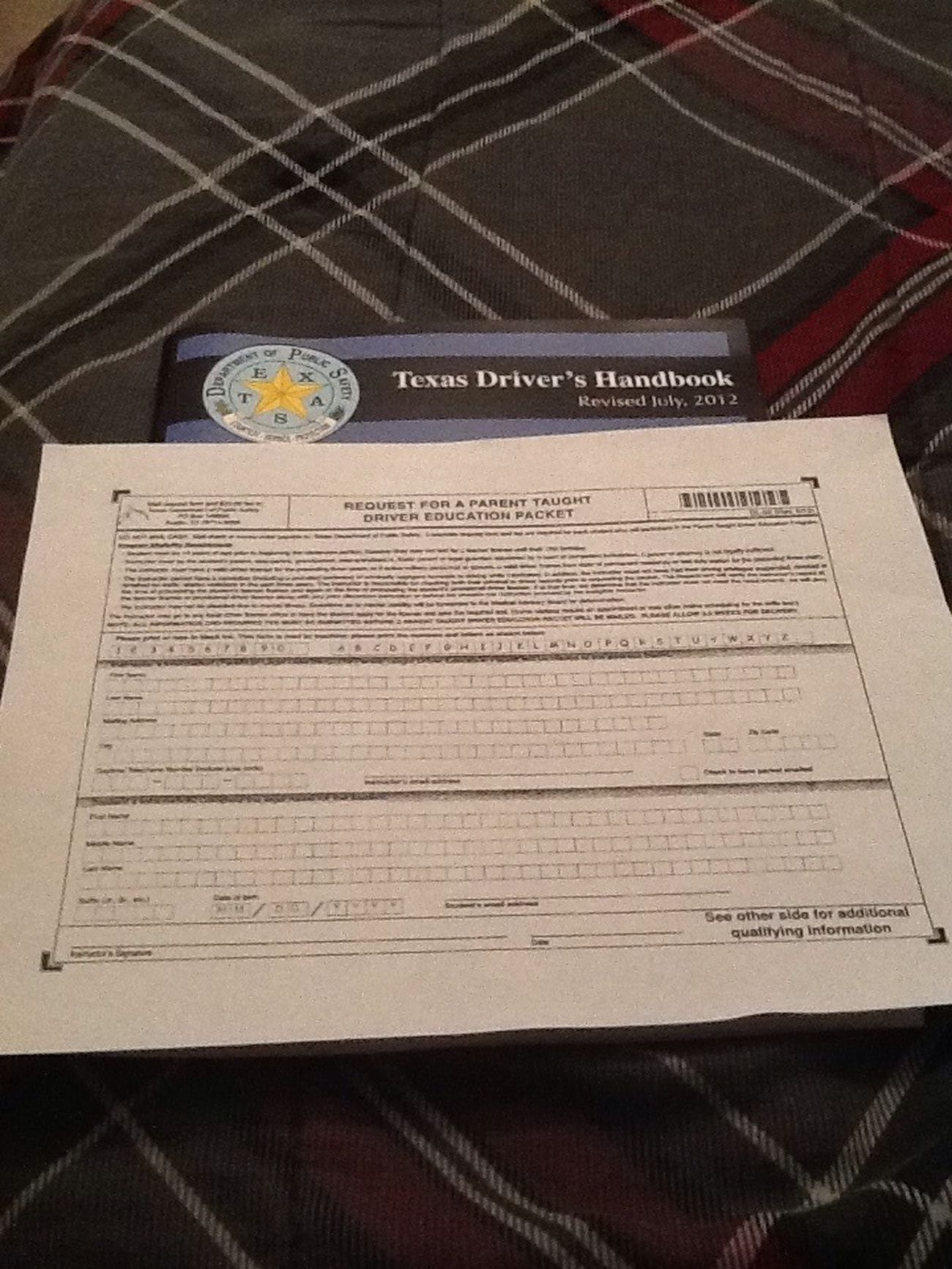 Gonna Get My Permit;D