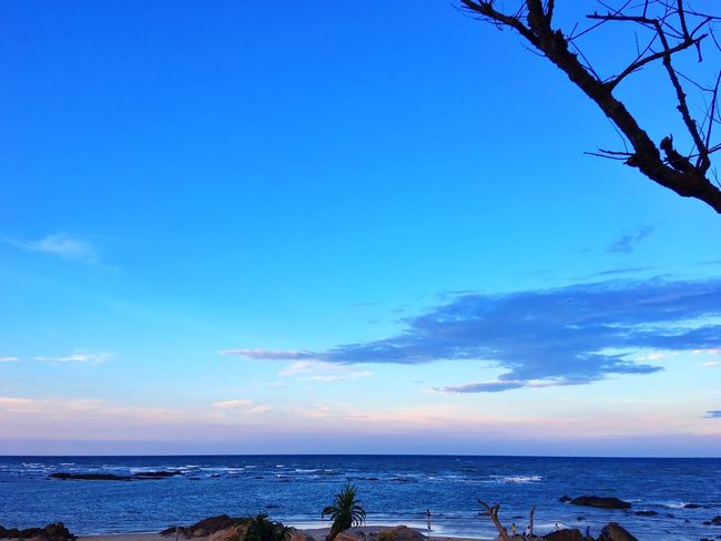 Seascape Sea And Sky Blue Sky Landcape Naturebeauty IPhoneography