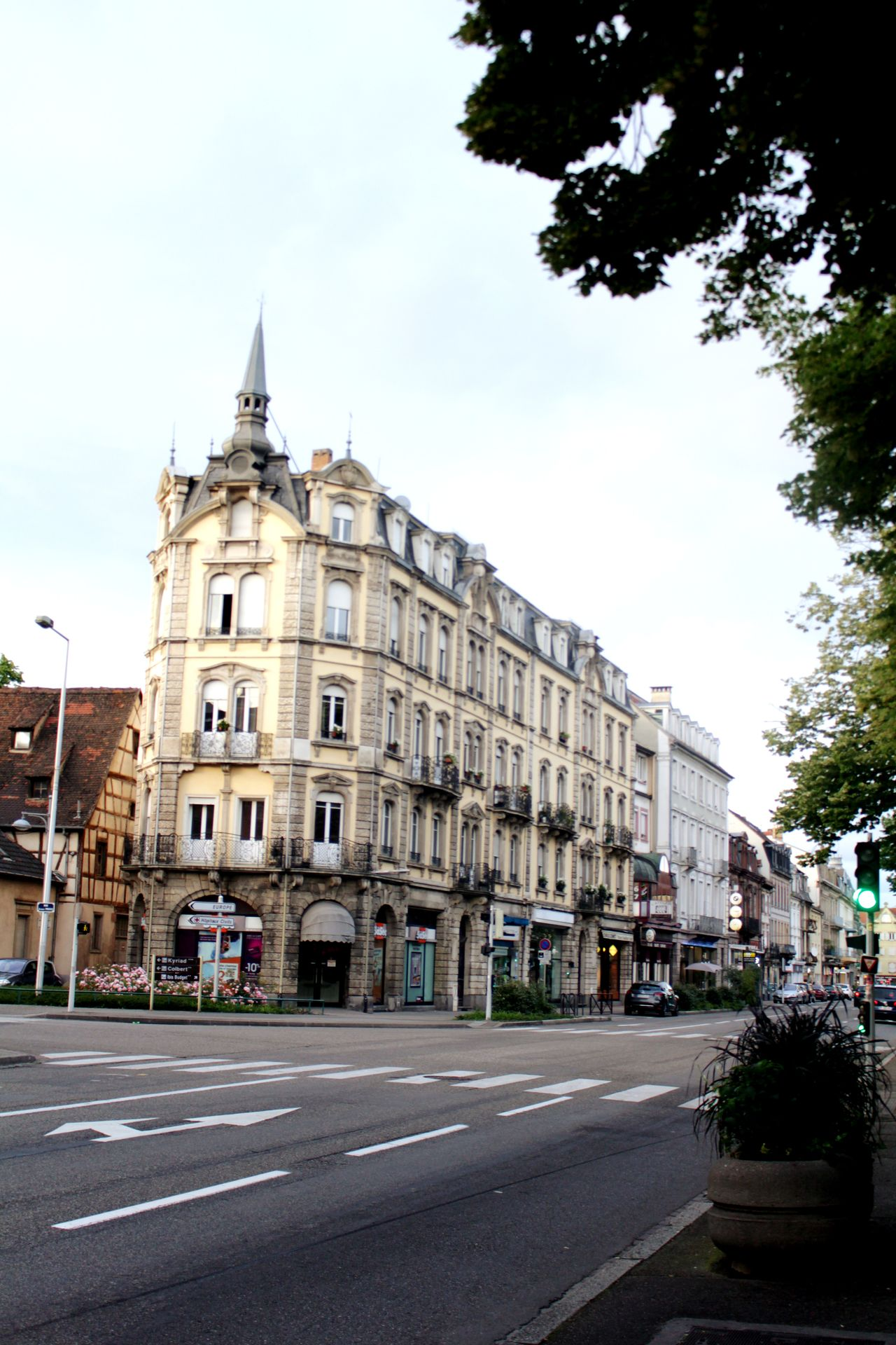 Street Travel Destinations Building Exterior Architecture No People Cityscape Road Colmar, Alsace, France