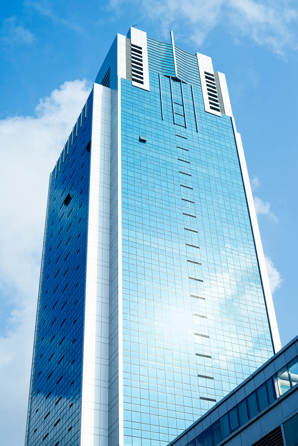 High Street Centre, Singapore. Architecture_collection Architecture High Street Centre Blue Windows Blue Sky