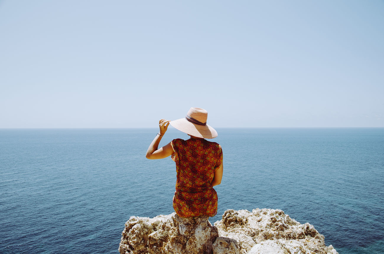 Beautiful stock photos of mädchen, Blue, Clear Sky, Day, Escapism