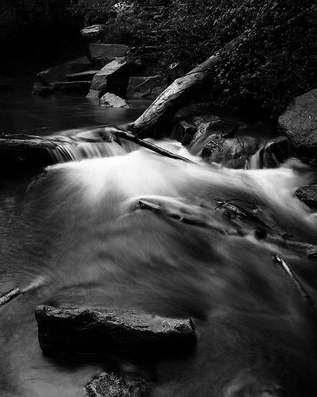 More monochrome the rainy weekend. Monochrome Water Millcreekcanyon Utah Blackandwhitephoto Longexposure Visitutah