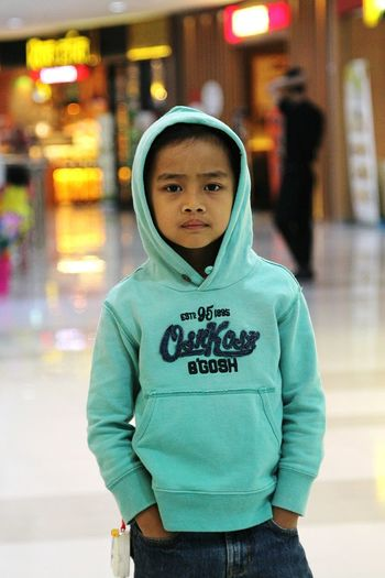 Eye Em Selects Portrait Hooded Shirt Looking At Camera One Person Standing People City Child Childhood One Boy Only Outdoors Day Children Only Adult MySON♥ Ezzra OshKosh Oshkosh2017