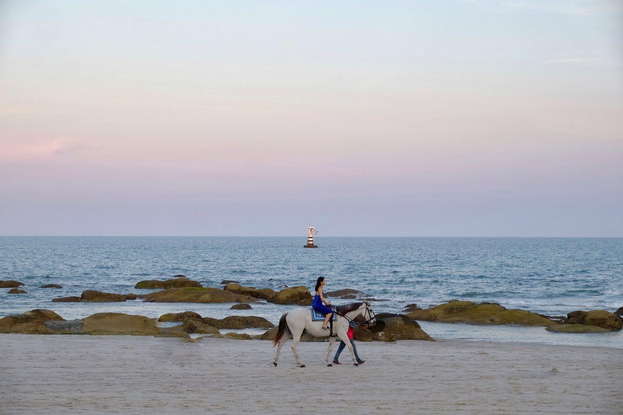 Beautiful stock photos of danke, sea, horizon over water, water, beauty in nature