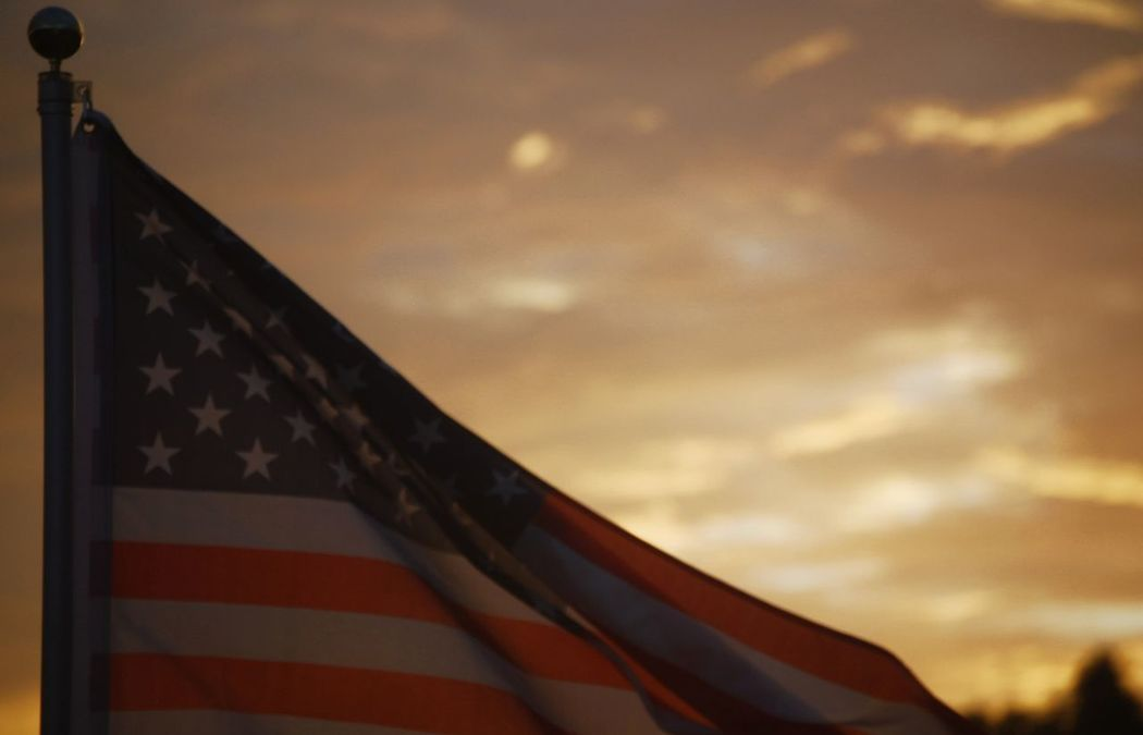 Election Day November.08.2016 Flag Patriotism Sky Outdoors Simplebutbeautiful Outdoor Photography Throughmyeyes The Week Of Eye Em Simple Photography EyeEm Best Shots EyeEmBestPics Through My Eyes Through My Lens My Point Of View Election Day Election2016 Election 2016 Man Made Object Selective Focus Sunsets Day American Flag Americanpolitics