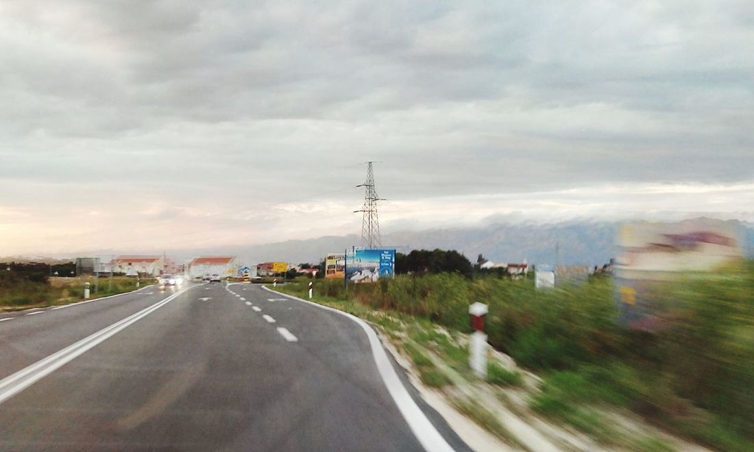 Croatia Mountains On The Road In The Car Capturing Movement On The Move Landscape_photography