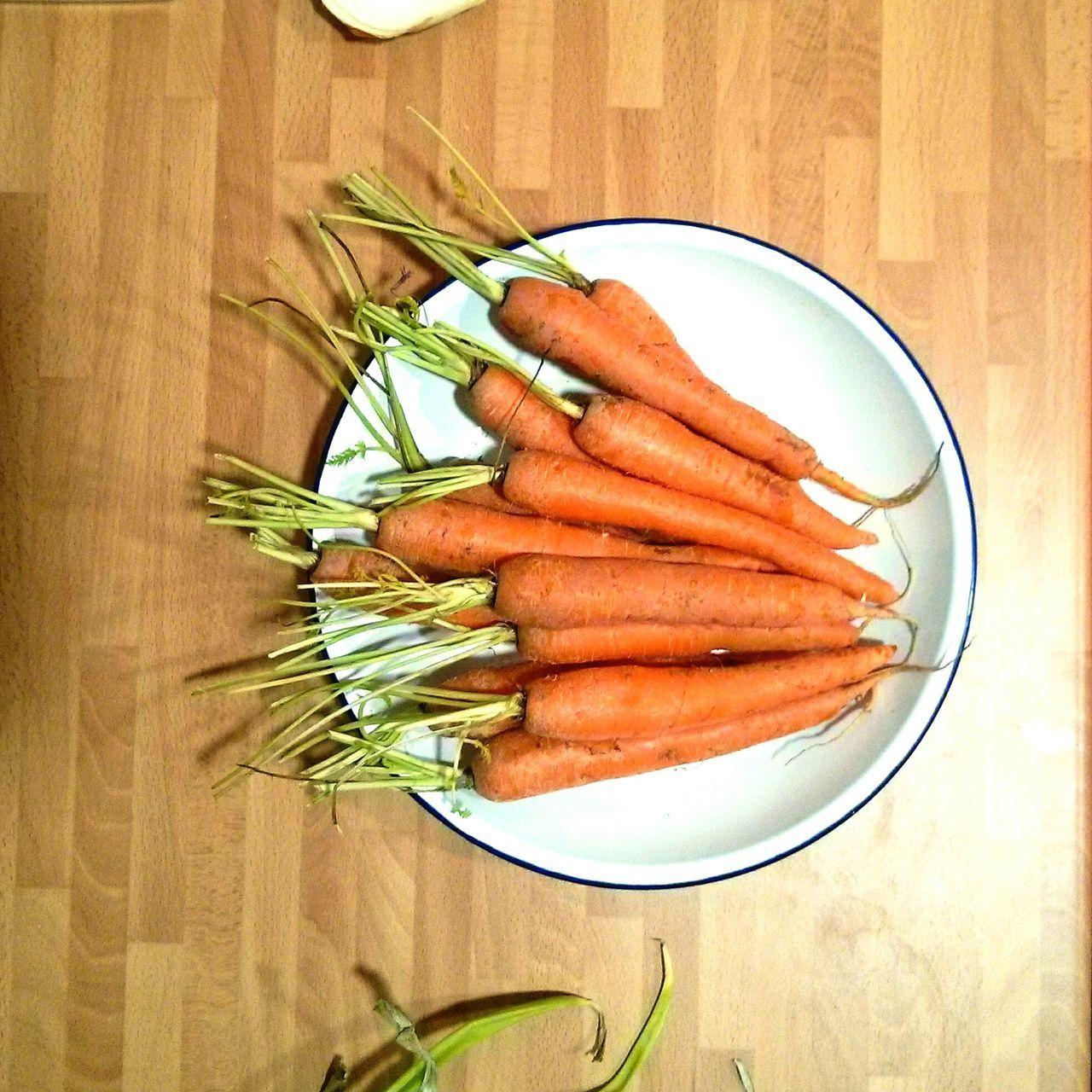 Carrots Zanahorias Orange Naranja