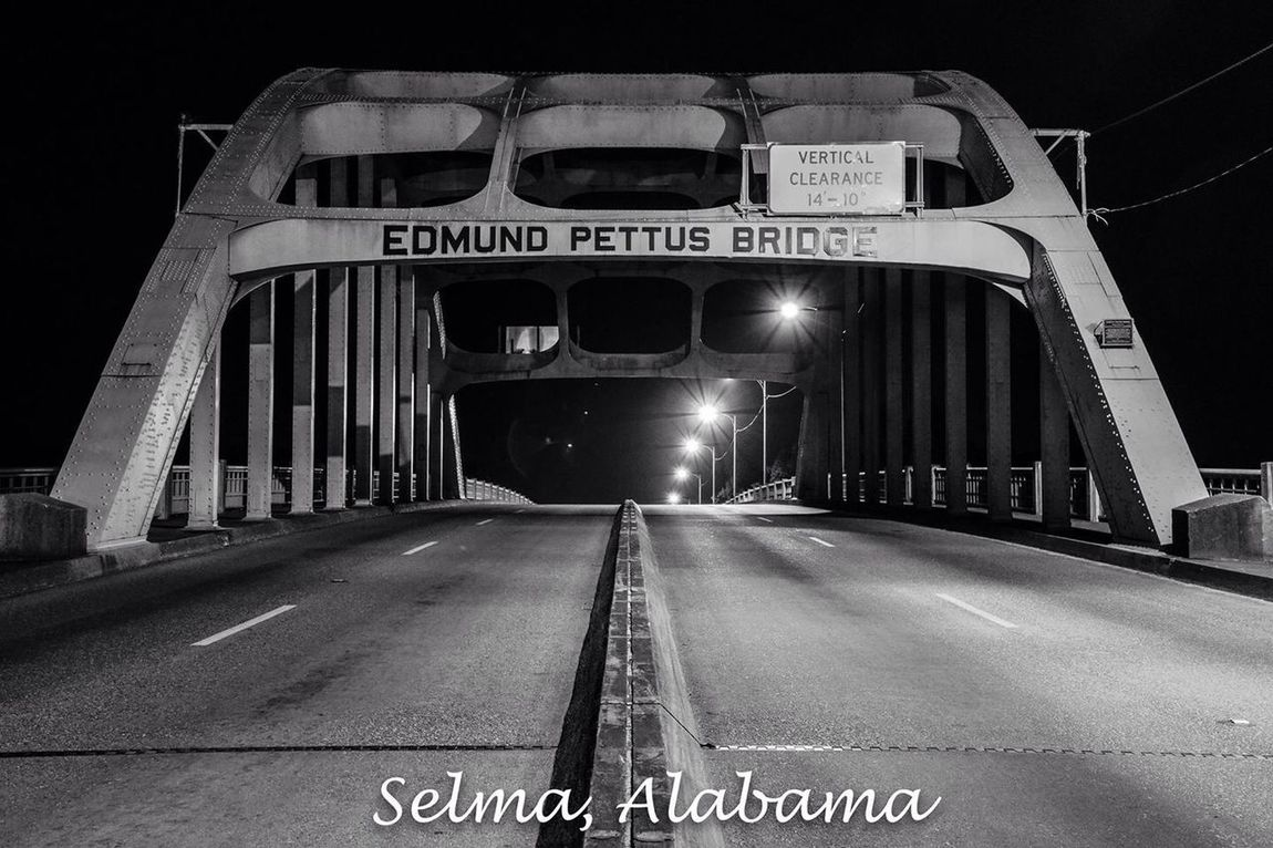 Selma Alabama bridge. Civil Rights  Travel Photography