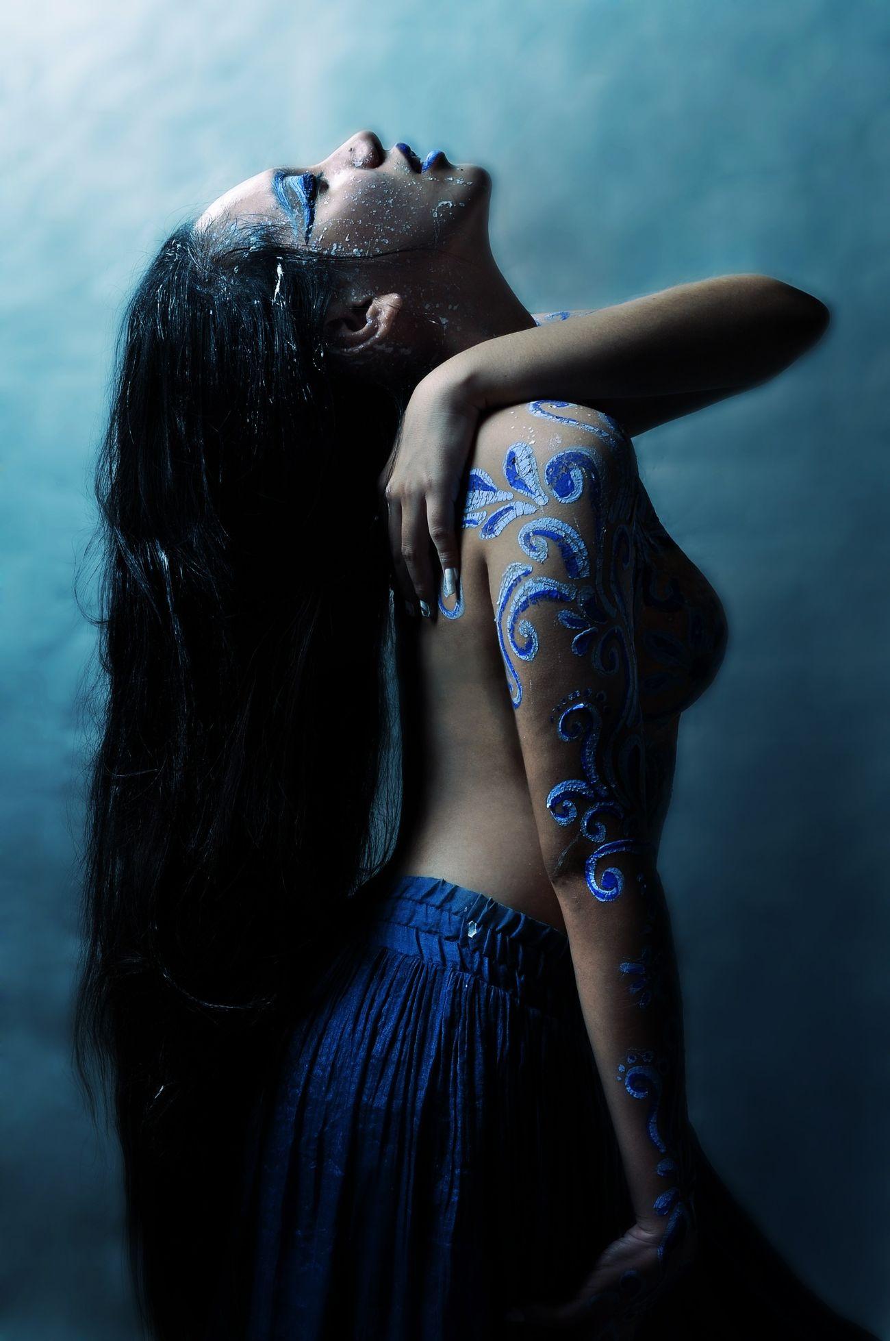 Có một sự nhẹ nhẹ nhẹ k thể nào ngăn được :) That's Me Studio Body Painting
