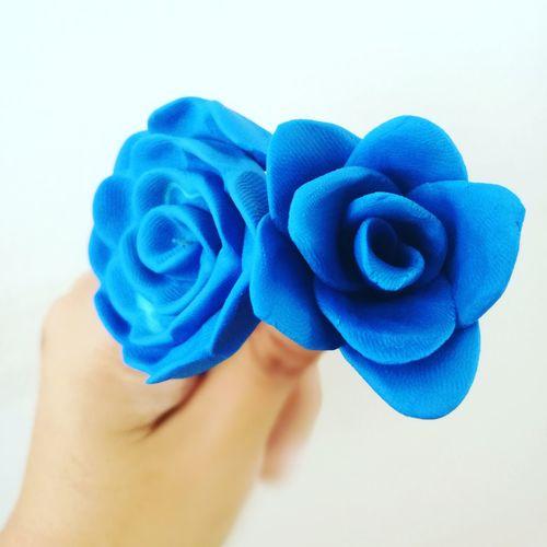 Blue Roses🌹 Roses RosesAreBlue Blueroses ClayDough