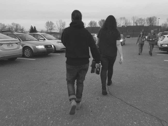 Walking Lesbian Promenades Saint-bruno