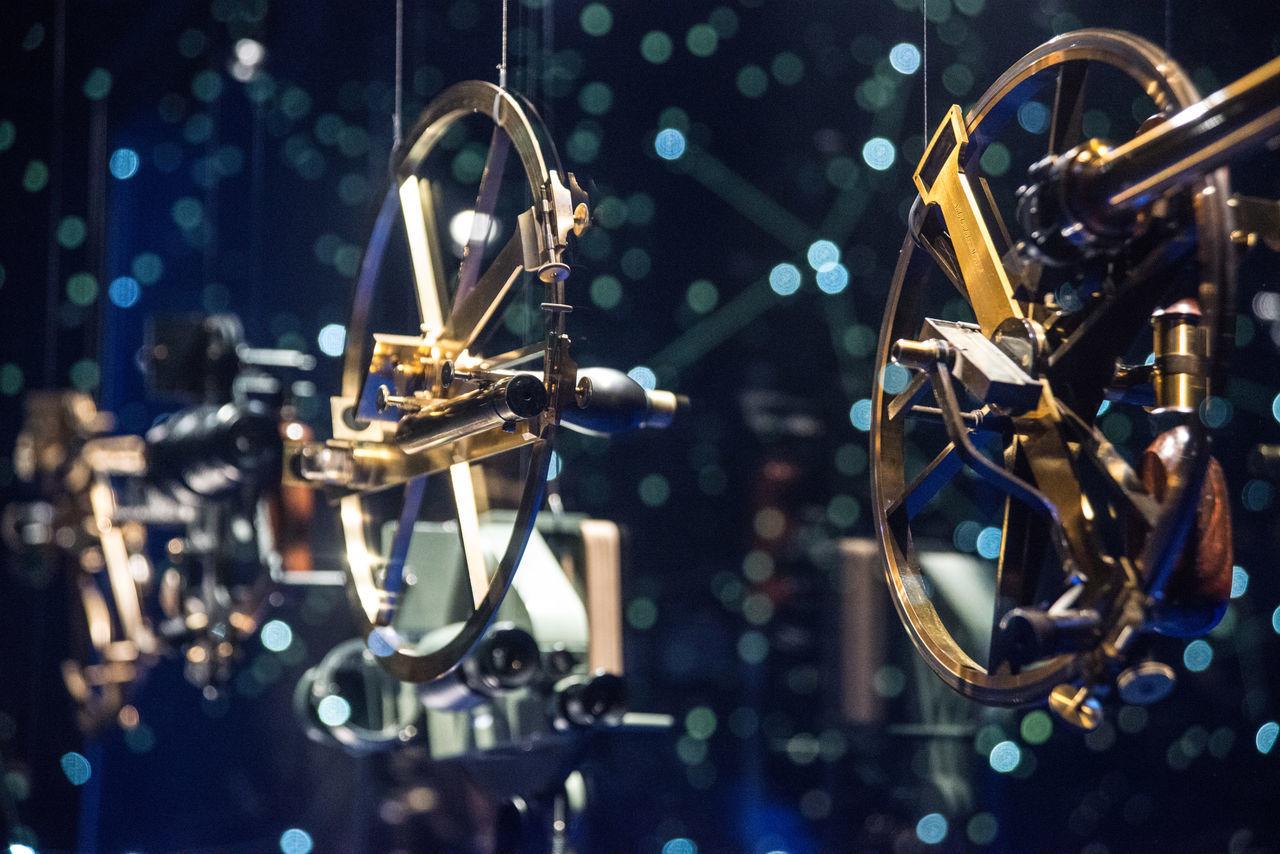 The National Maritime Museum, Amsterdam Astrolabe Close-up Illuminated Inclinometer Indoors  Marine Navigatin Mariner's Astrolabe Nautical Tools Navigational Instrument No People Sea Astrolabe